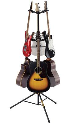 HERCULES ハーキュレス ギター・ベース用6本ツリースタンド GS526B 6 Guitar Tree【zn】