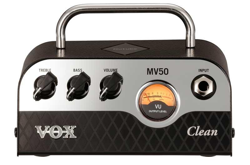 VOX ヴォックス MV50-Clean Nutube搭載ヘッドアンプ【smtb-ms】【zn】