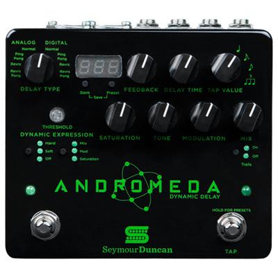 【即日発送O.K】Seymour Duncan セイモア・ダンカン エフェクター Andromeda Dynamic Delay【smtb-ms】【zn】