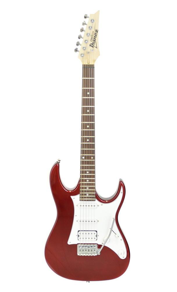 【入門用アクセサリーキット付属】Ibanez GRX40 Candy Apple アイバニーズ エレキギター【smtb-ms】【zn】