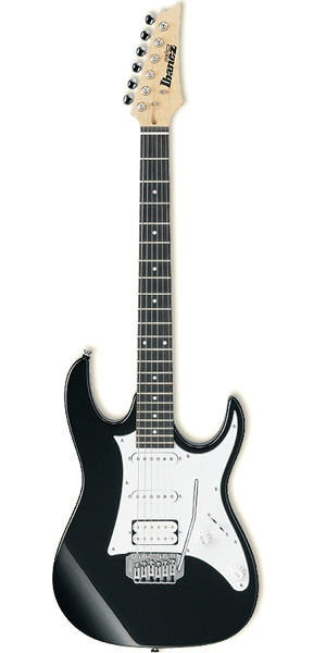 【入門用アクセサリーキット付属】Ibanez GRX40 Black Nightアイバニーズ エレキギター【smtb-ms】【zn】
