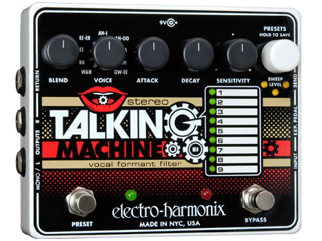 electro-harmonix Stereo Talking Machine ステレオ・トーキング・マシーン【smtb-ms】【zn】