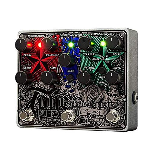 贅沢品 electro-harmonix electro-harmonix Tone Tattoo マルチエフェクター Tattoo【smtb-ms】【zn】, ミゾクチチョウ:914fac68 --- canoncity.azurewebsites.net