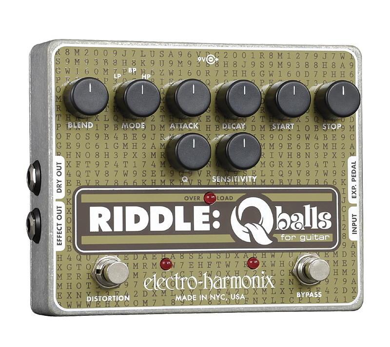 electro-harmonix Riddle エンベロープ・フィルター【smtb-ms】【zn】