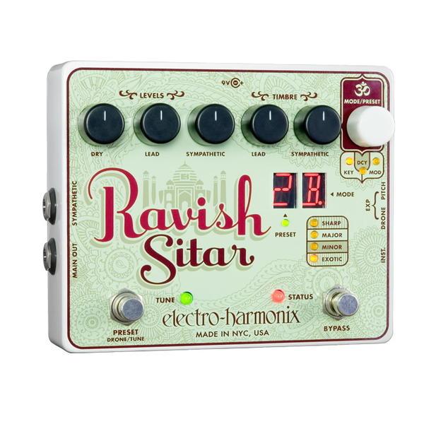 electro-harmonix Ravish Sitar シタールサウンド【smtb-ms】【zn】