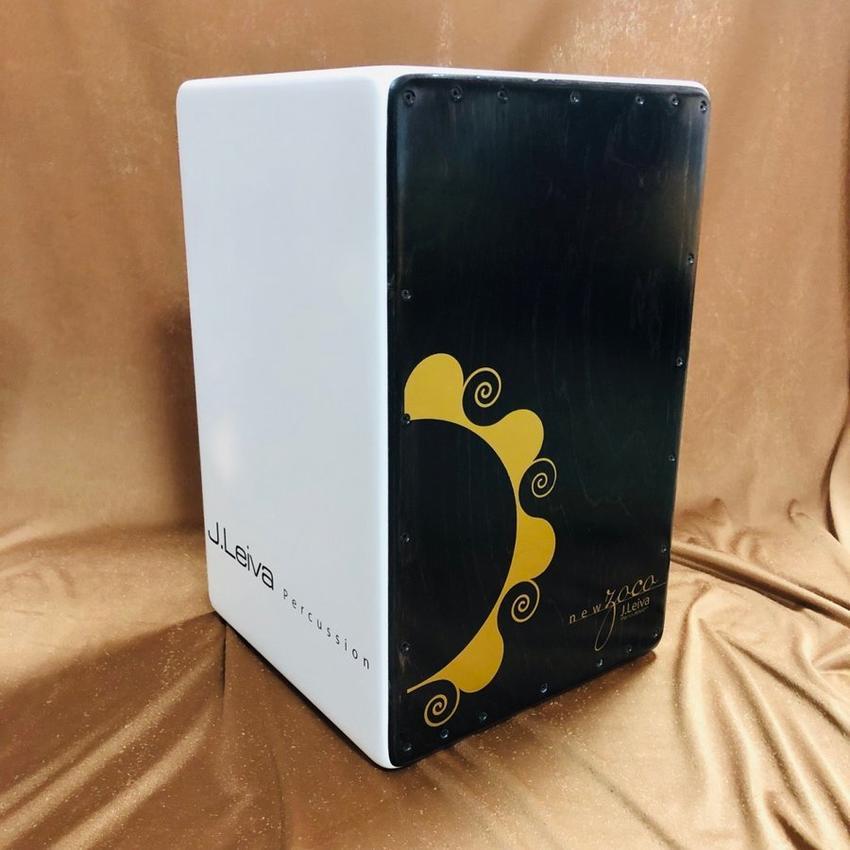 カホン 打楽器 J.Leiva NEW ZOCO 2.0 White Edition パーカッション【smtb-ms】【zn】