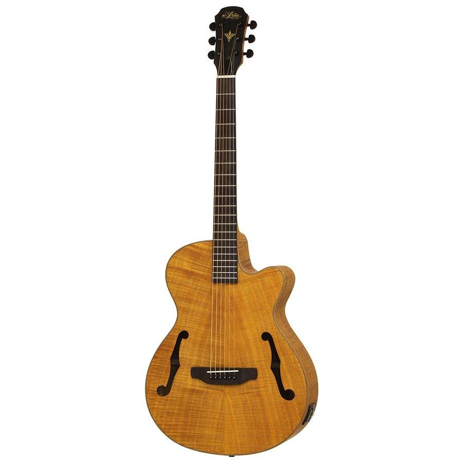 アリア エレアコ ARIA FET-F2 STBR エレクトリックアコースティックギター【smtb-ms】【zn】