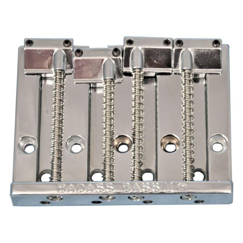 エレキベース用ブリッジ Allparts BB-0335-010 BADASS II, Chrome [6109]