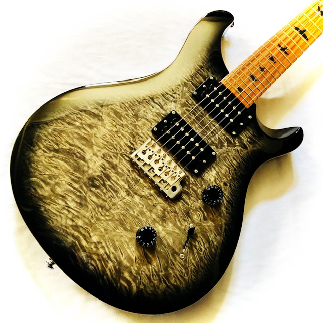 PRS SE Custom 24 Roasted Maple Limited Charcoal Burst Paul Reed Smith ポールリードスミス エレキギター【smtb-ms】【zn】
