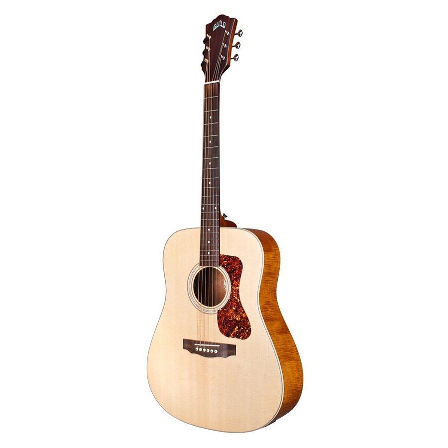 エキゾチックなフレイムマホガニーサイドバックを採用 エレアコ 安売り Guild D-240E Flamed ギルド エレクトリックアコースティックギター Mahogany 本店