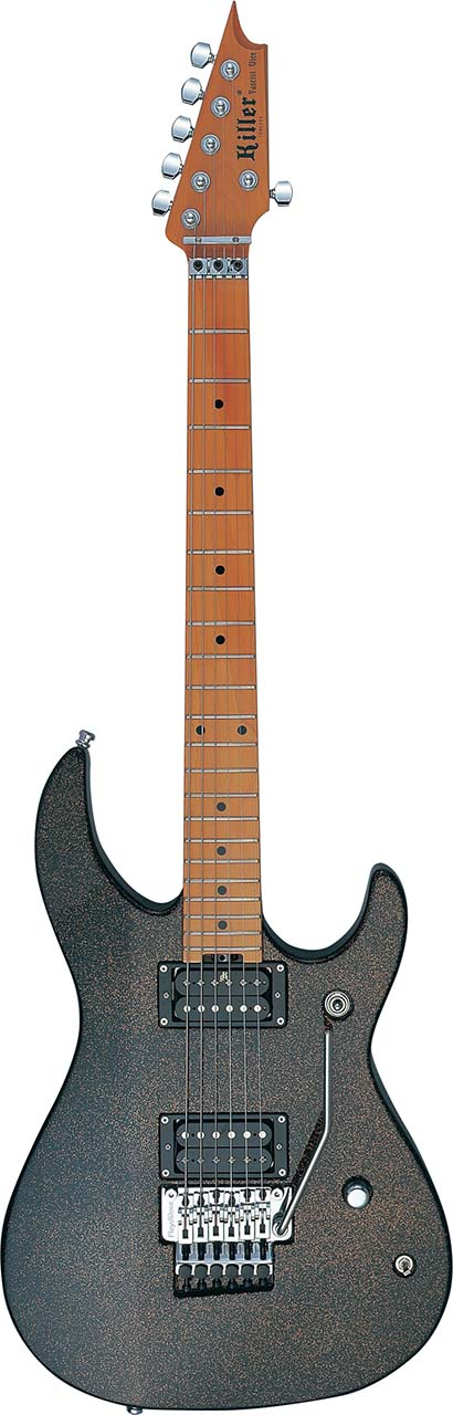 ハードロック 豪華な メタル向けギターの定番 Killer Guitars キラー ギターズ black エレキギター KG-Fascist Galaxy 特売 Vice