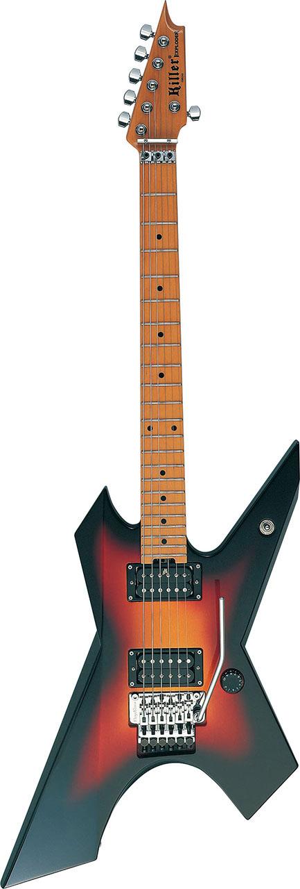 ハードロック メタル向けギターの定番 Killer 専門店 Guitars 通販 激安◆ キラー ギターズ 3TS KG-EXPLODER エレキギター
