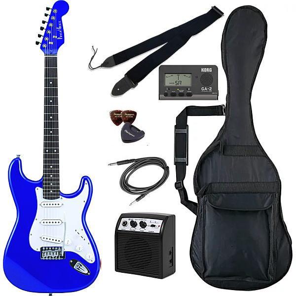 【エレキギター初心者8点セット】フォトジェニック ST-180 MBL 【メーカー直送】【smtb-ms】【zn】