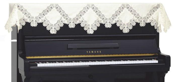 吉澤 アップライトピアノカバー レーストップカバー LPT-231CH【送料無料】【代引不可】【smtb-ms】【zn】
