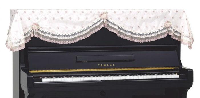 吉澤 アップライトピアノカバー レーストップカバー LPT-233CF【送料無料】【代引不可】【smtb-ms】【zn】
