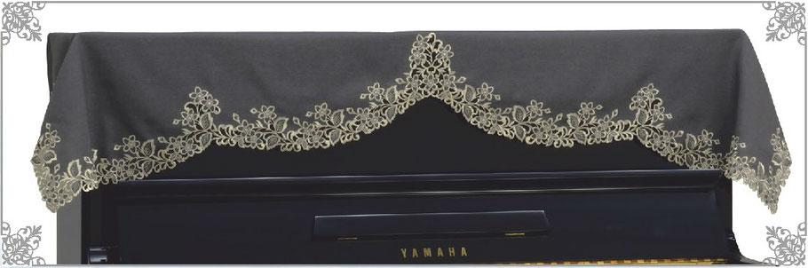 吉泽竖式钢琴覆盖物顶盖LC-239NB