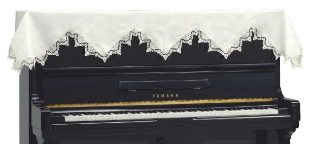 吉澤 アップライトピアノカバー レーストップカバー LPT-240MW【送料無料】【代引不可】【smtb-ms】【zn】