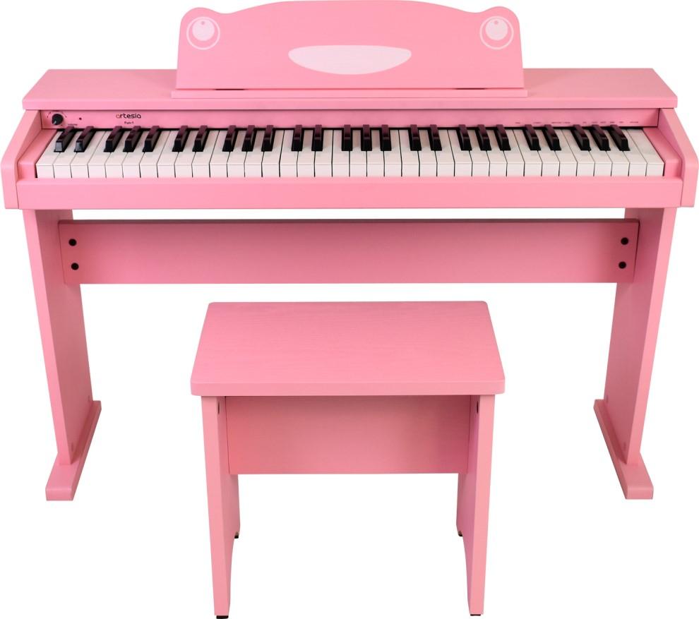 artesia アルテシア デジタルピアノ FUN-1 PK ピンク オールインワン 61鍵盤 キッズピアノ【smtb-ms】【zn】