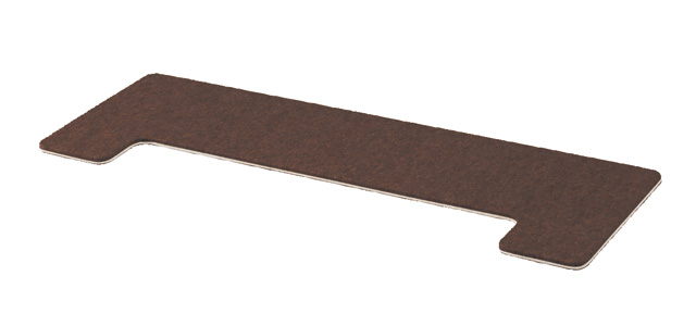 フラットボード静 FB-S 奥行き70cmタイプ アップライトピアノ用床補強ボード ダークブラウン【返品不可】【同梱不可】【zn】