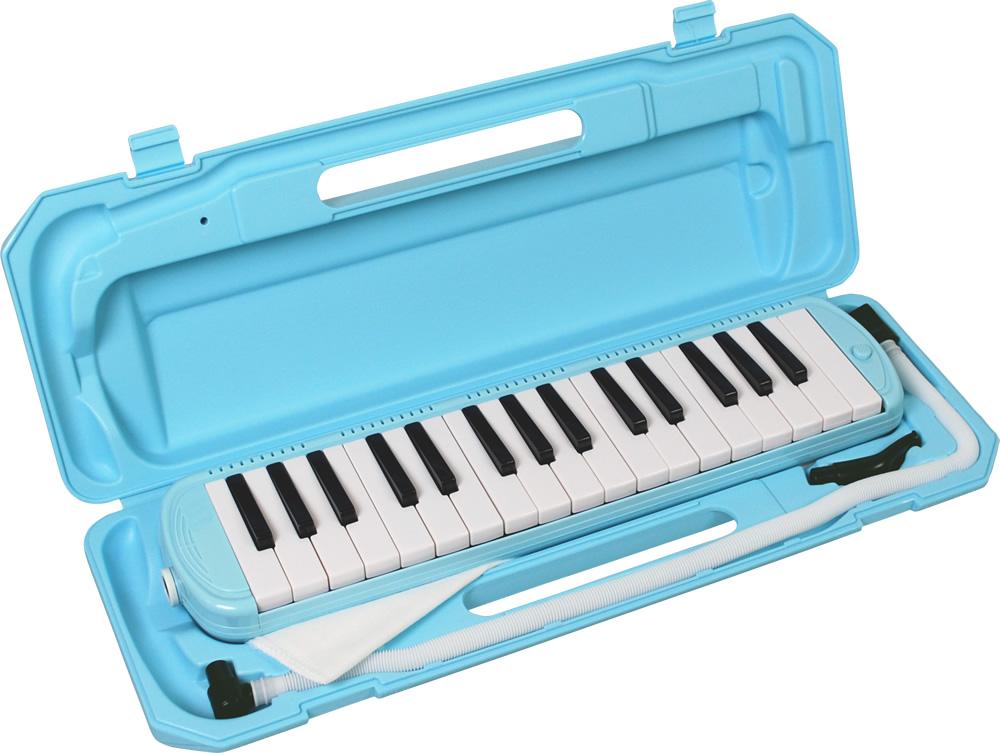 鍵盤ハーモニカ メロディーピアノ P3001-32K 32鍵盤 ライトブルー キョーリツコーポレーション 【RCP】【zn】