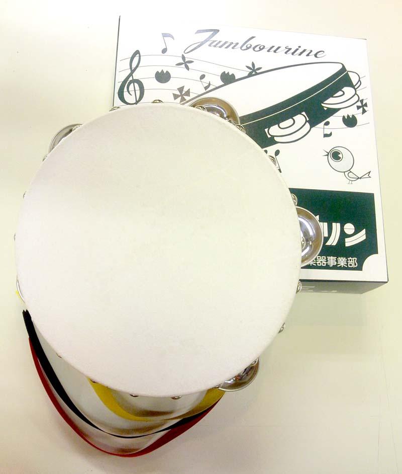 【30個セット】タンバリン 18cm 木枠 ヤマヨ【同梱不可】【smtb-ms】【zn】