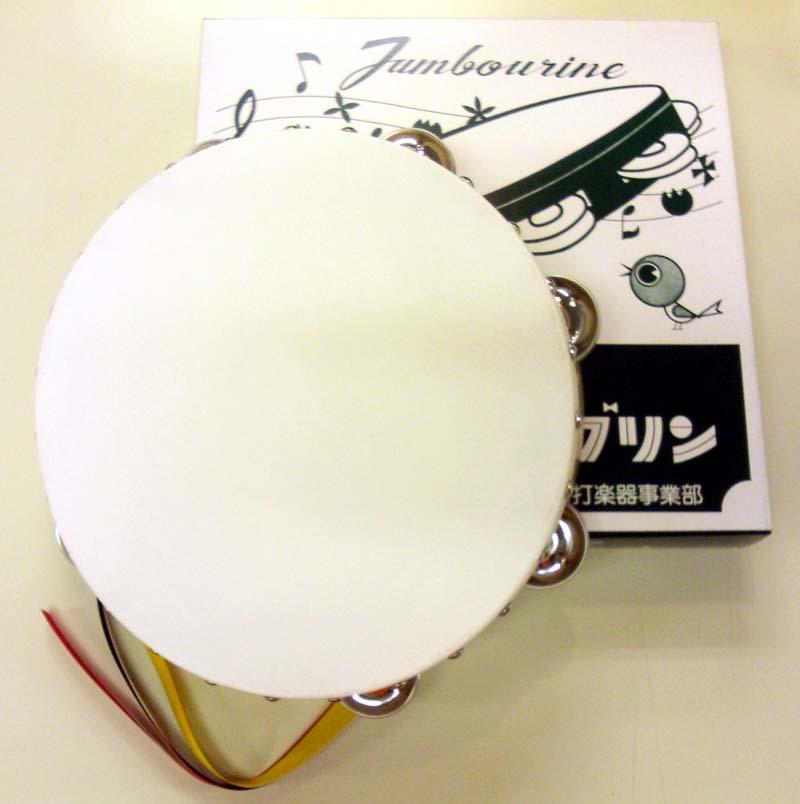 【代引・返品・同梱不可】 タンバリン 24cm 木枠 ヤマヨ【返品不可】