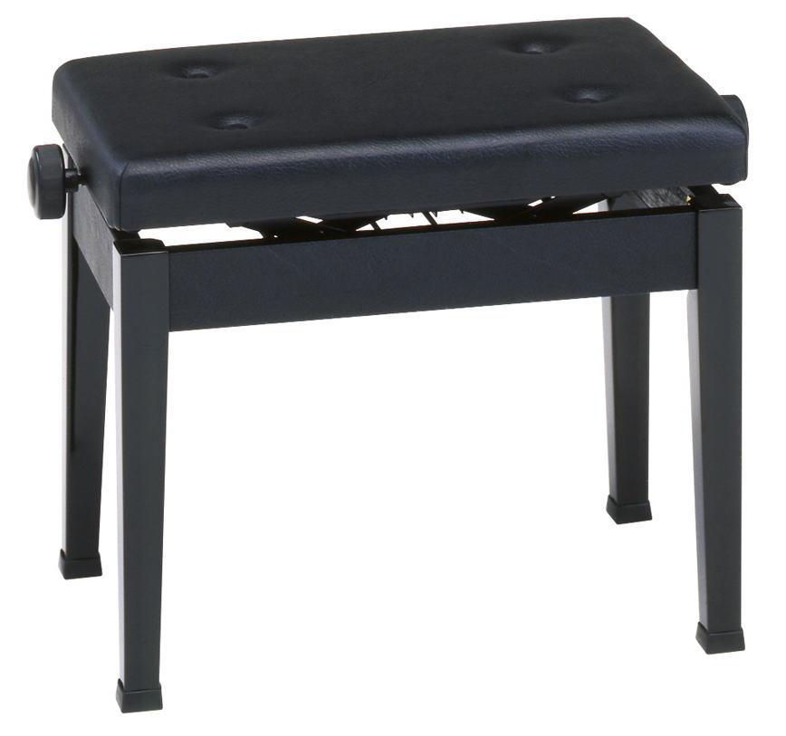甲南 新高低自在 ピアノ椅子 AW55-S 黒塗 【返品不可】【同梱不可】【smtb-ms】【zn】
