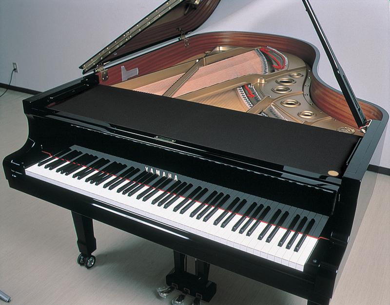 ヤマハ グランドピアノ用 フロントフレームカバー(C6・C7・S6・CF6用)