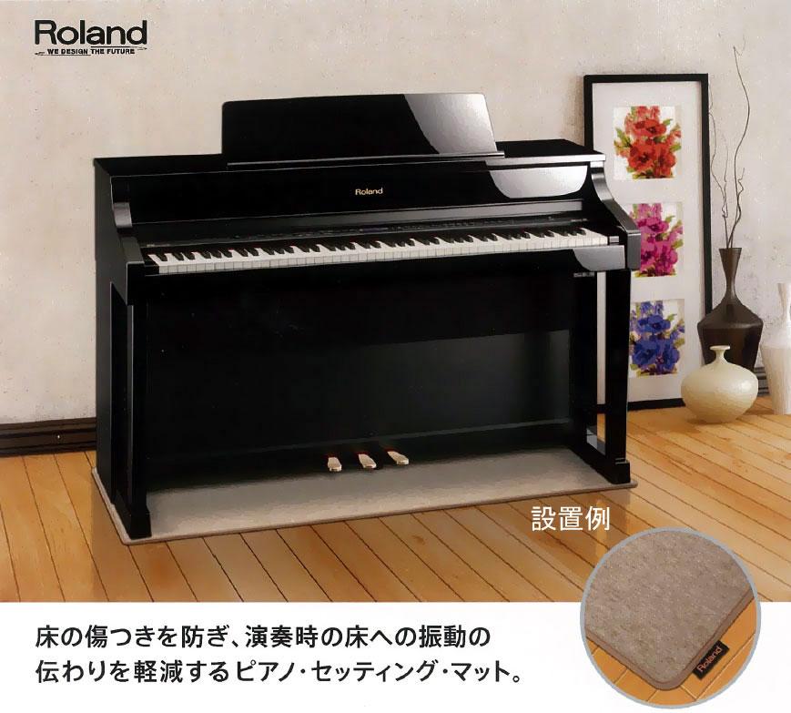 ローランド ピアノセッティングマット(防振マット)HPM-10(デジタルピアノ用)【zn】