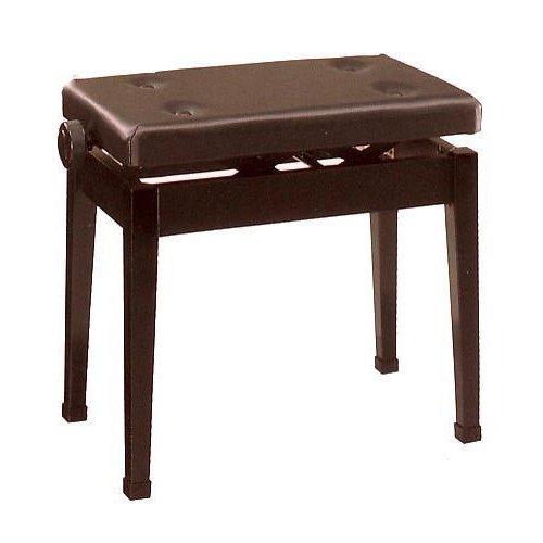 甲南 新高低自在ピアノ椅子 K50-D マホガニー塗【返品不可】【同梱不可】【zn】