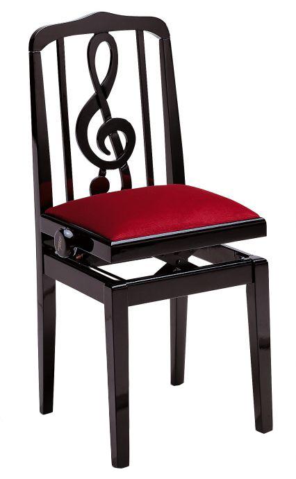 甲南 高低自在ピアノ椅子 SG-40(ト音記号)【送料無料】【smtb-ms】【zn】