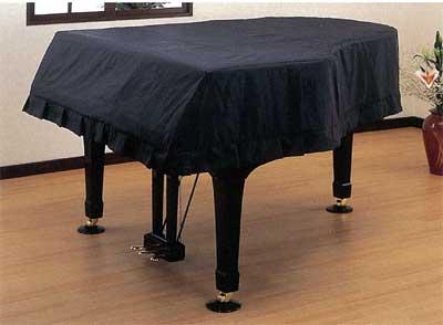 甲南 ピアノカバー 並製フルカバーグランドピアノ用ブラック【サンプルお届け】【送料無料】【smtb-ms】【zn】
