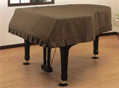 甲南 ピアノカバー 並製フルカバーグランドピアノ用ブラウン【送料無料】【smtb-ms】【zn】