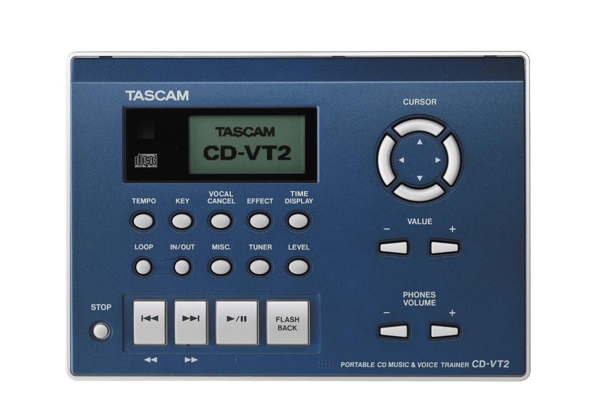 Tascam タスカム ポータブルCDボーカルトレーナー CD-VT2【smtb-ms】【zn】