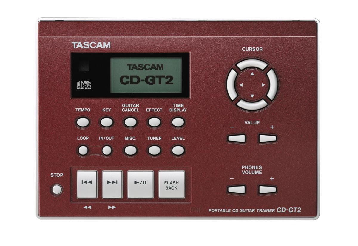 Tascam CD-GT2 タスカム ポータブルCDギタートレーナー【smtb-ms】【zn】