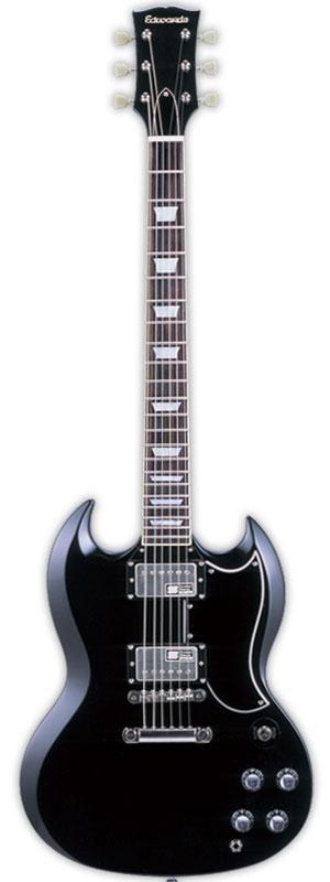 EDWARDS エドワーズ エレキギター E-SG-120LT2 Black【送料無料】【smtb-ms】【zn】