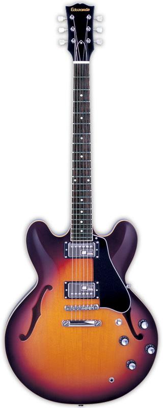 EDWARDS エドワーズ エレキギター E-SA-160LTS Tabacco Sunburst【送料無料】【smtb-ms】【zn】