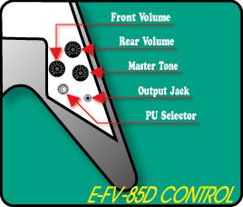 EDWARDSエドワーズエレキギターE-FV-120DVintageWhite【送料無料】【smtb-ms】【RCP】【zn】