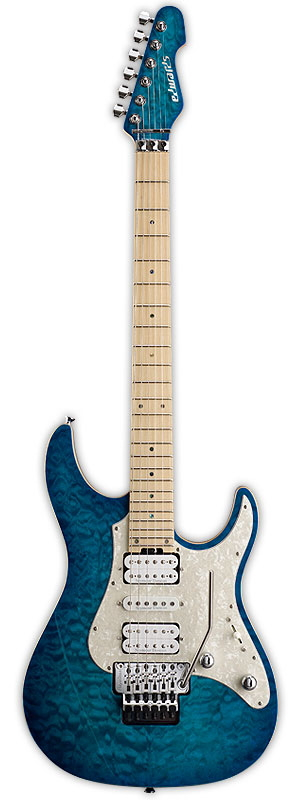 EDWARDS エドワーズ エレキギター E-SN-150FR Aqua Marine【送料無料】【smtb-ms】【zn】