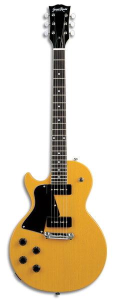 Grass Roots グラスルーツ 左用エレキギター G-LS-57 TV Yellow(レフトハンドモデル)【送料無料】【smtb-ms】【zn】