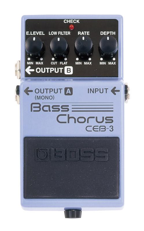 BOSS ボス コンパクト・エフェクター Bass Chorus CEB-3【zn】