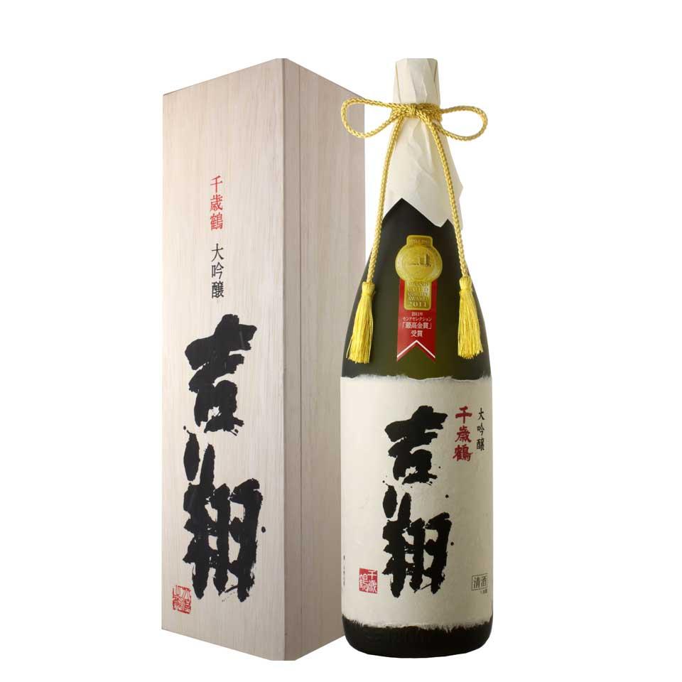 千歳鶴 大吟醸 吉翔  1800ml 北海道の酒