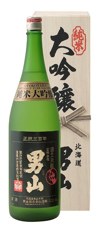 男山 純米大吟醸  1800ml  北海道の酒 北海道産地酒 お中元 お歳暮 北海道 お土産