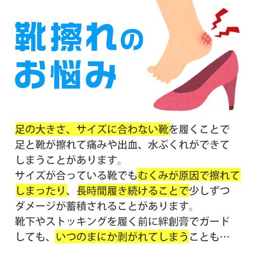 ニシカワ4足セット靴ずれ防止パッドカカトまもる君【メール便】
