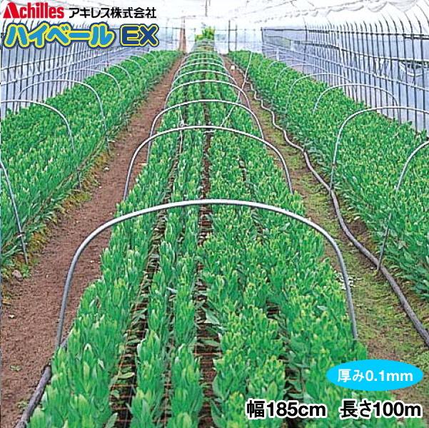農POフィルム ハイベールEX 厚さ0.1mm 幅185cm 長さ100m(原反)