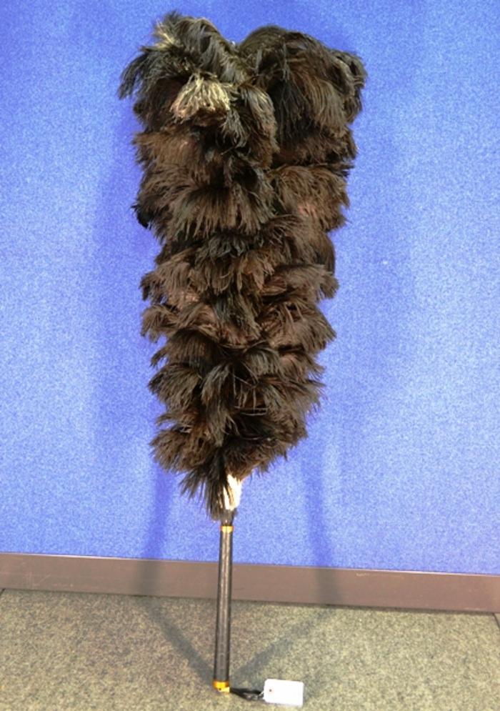 【送料無料】特製 毛バタキ オーストリッチ ダチョウ class-SS(スペシャル) ハンドメイド 羽はたき ほこり払い 天然 羽毛