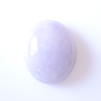 【魅力の淡い京紫】ラベンダーヒスイオーバルカボション 約7.76cts