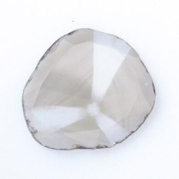 【珍品トラピチェダイヤモンド】スライスダイヤモンド スライス 約0.50cts