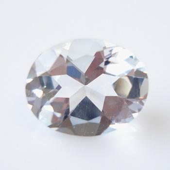 【無色透明のベリル】ゴッシェナイト(ゴシェナイト)オーバルシェイプ 約2.11cts