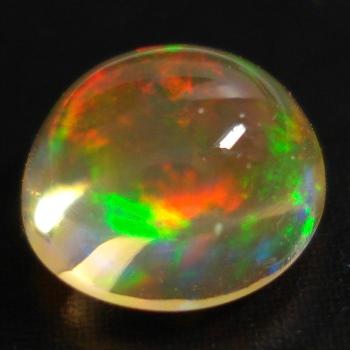 【オーロラの涙石】メキシコオパールオーバルカボション 約0.83cts
